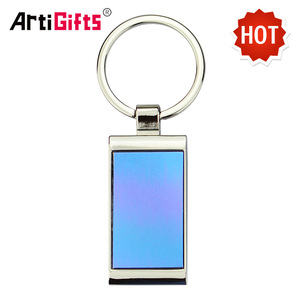 Wholesale Keychain Custom Maker Cheap Die Cut Blank Custom Metal Keychain In Bulk