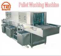 Water Spray Continuous Plastic Pallet Washing and Cleaning Machine
