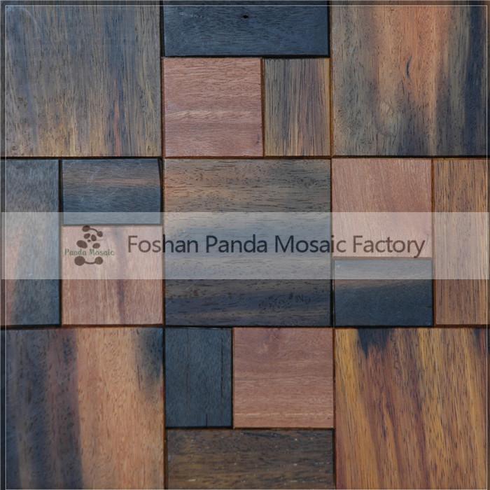 Mb mc90105 colore marrone antico in legno nave della parete schema di posa studio decorazione a - Posa piastrelle parete ...