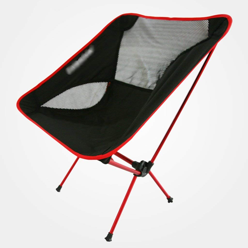 ZGL Outdoors Outdoor Ultra-light Portable Aluminum Alloy Folding Moon Chair Multi-purpose Fishing Car With Lazy Chair Color Optional