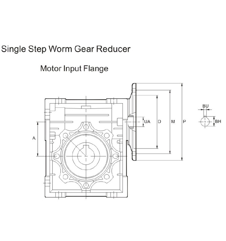 JRST series worm gears