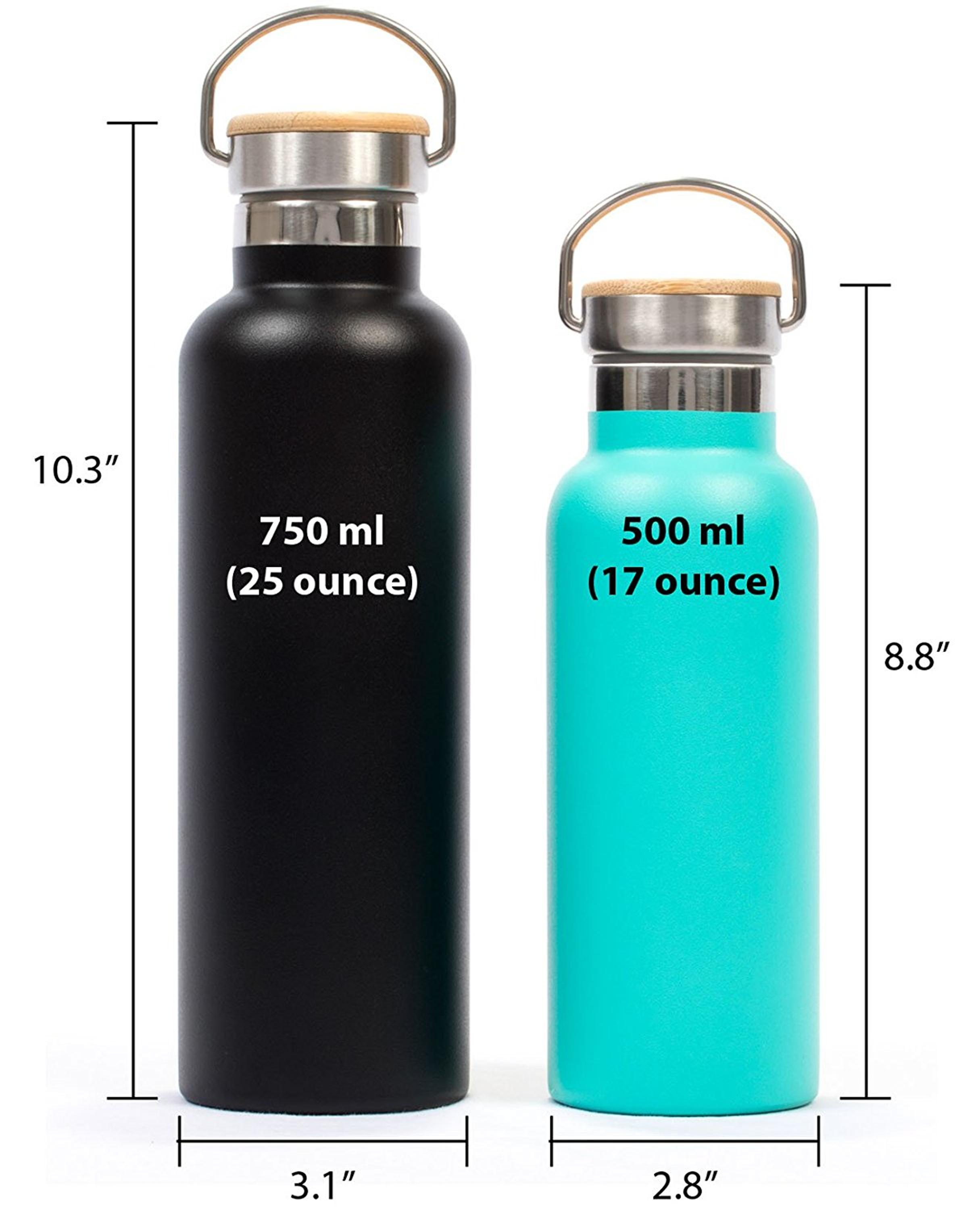 Stainless Steel Pure Flask Insulated Water Bottle For