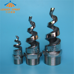 60,90,120,150,170 degree spjt spiral cooling tower water spray jet nozzle