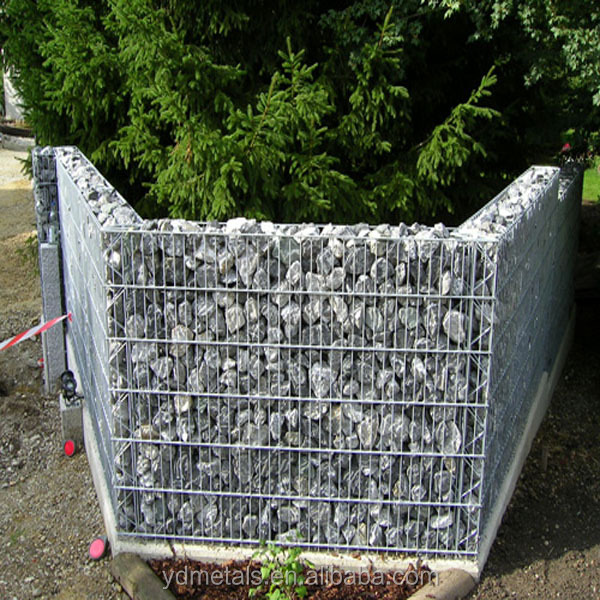 Hot sale China supplier welded gabion box/gabion stone basket/welded mesh galvanized wire mesh gabion