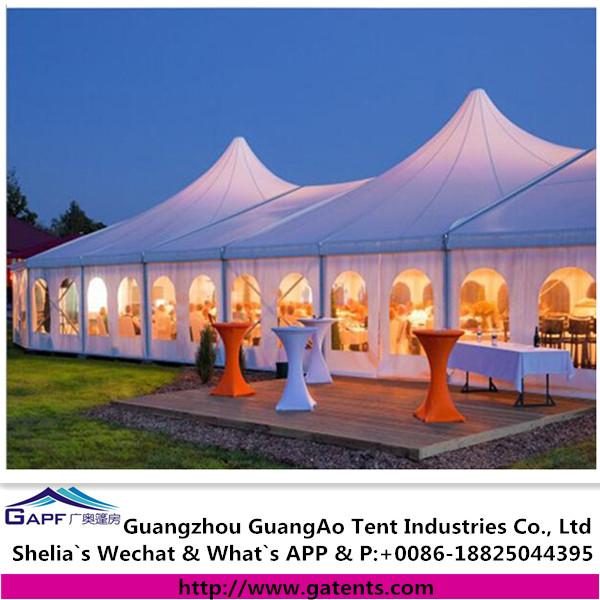 Outdoor mega high peak 1000 seater tent event tent