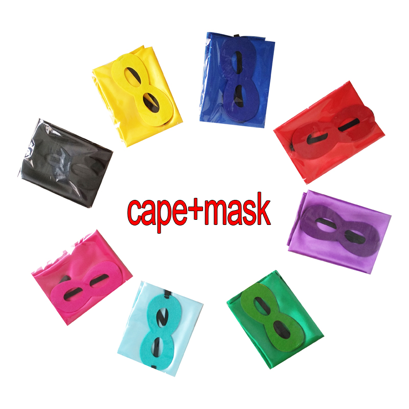 2020 Cheapest children wholesale <strong>superhero</strong> <strong>cape</strong> with felt mask
