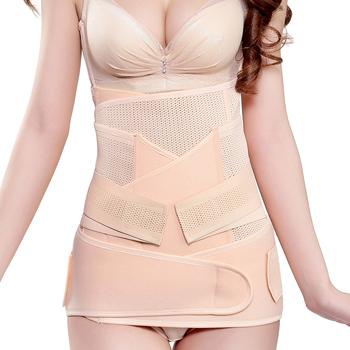 fd782019e0 3 In 1 Postpartum Support Recovery Belly waist pelvis Belt Shapewear Waist  Trainer Belts - Buy High Quality Postpartum Girdle