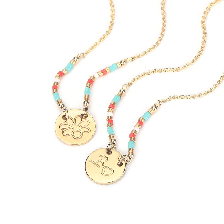 23K Vermeil Unity Links Dainty Circle Hoops Pendant Karma Necklace 14K Gold Filled Necklace