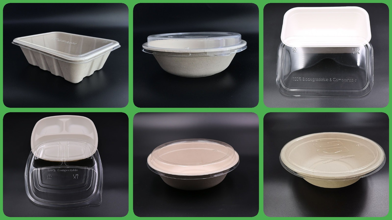 disposable plates with clear plastic dome lid