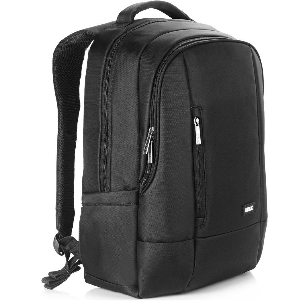 DTBG 17.3 Inch Laptop Backpack, Nylon Rucksack Outdoor Travel Knapsack Business Travel Knapsack Laptop Bag For 15.6 - 17.3 Inch Notebook / Tablets / Asus / Dell / Lenovo / HP / Men / Women ( Black )