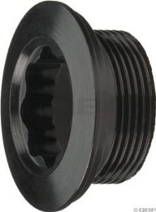 Wheels Manufacturing XTR, XT 2005 Fixing Bolt, Black Anodized