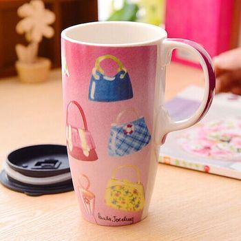 New Bone China 16oz Tall Coffee Mugs Large