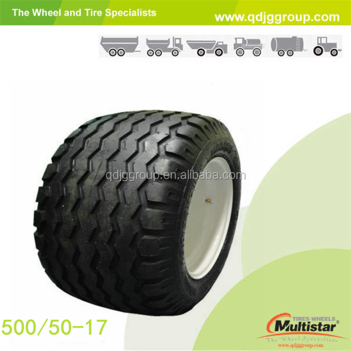 agriculture implement tires with wheel rim 16.00x17 500/50-17