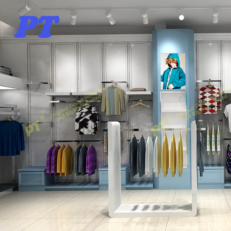 Hanging Clothes Rack Menswear Garment Shop Interior Design Of Boutique In India Buy Interior Design Of Boutique In India Garment Shop Interior Design Photos In India Menswear Shop Interior Design In India Product