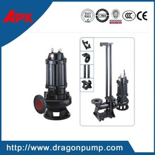 Animal waste dewatering sewage pumps with auto-coupling