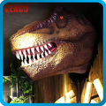 dinosaur exhibit-huge dinosaur head