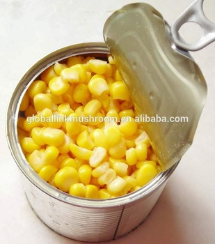 China manufacturer canned sweet corn factory