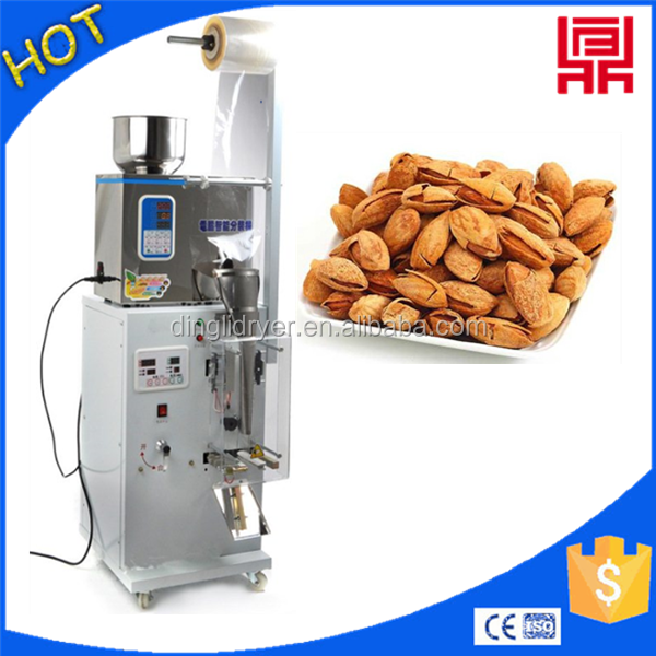 spiral weighing packing machine for spices/seeds/bolts/pet food