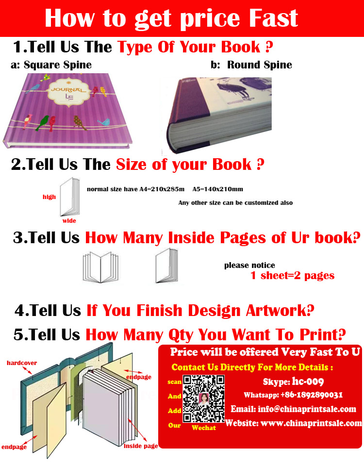 Chinese printing manufacturer produce low price A4 paperback text books