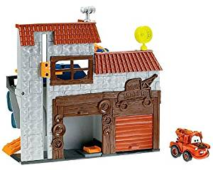 Fisher Price Disney Cars Cars 2 Imaginext Spy Mater Garage Exclusive Playset