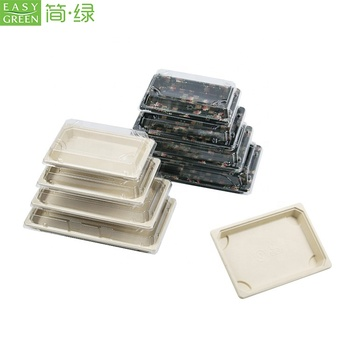 Easy Green 15 Years Factory Wholesale Custom Printed Natural pulp Paper Food Tray