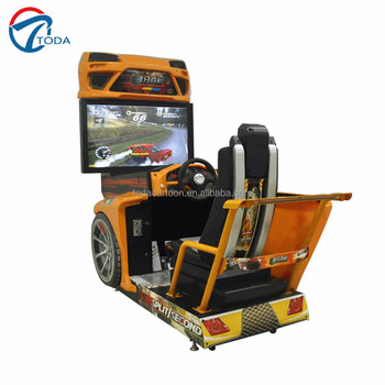 Race Initial D 4 Simulater Racing Car Arcade Game Machine / Hot ...