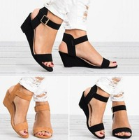 zm31085c 2019 fashion new hot style wedge sandals big size shoes