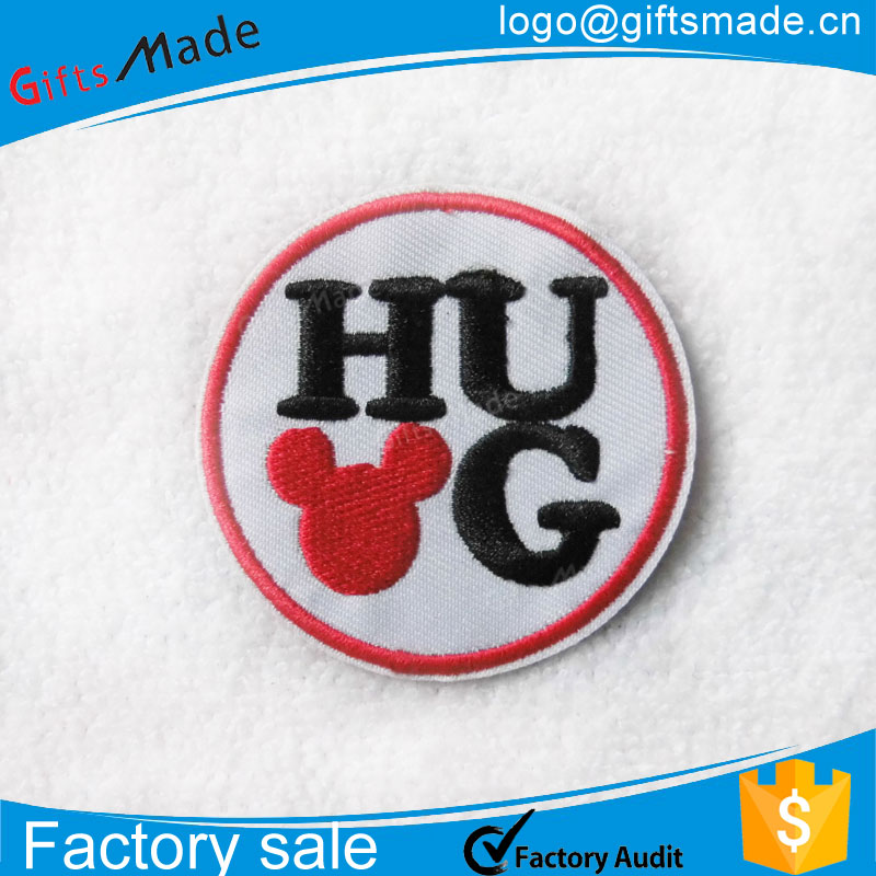 cheap custom wholesale embroidered patches