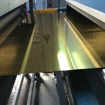 Golden Mirror Aluminum Composite Panel for Building