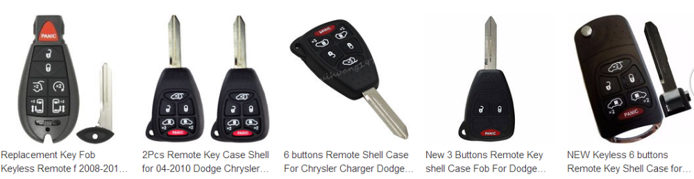 6b Remote Key Shell Case For Dodge Chrysler Grand Caravan Town Country -  Buy Remote Key Shell Case For Dodge,Chrysler Remote Key,Chryslertown  Country