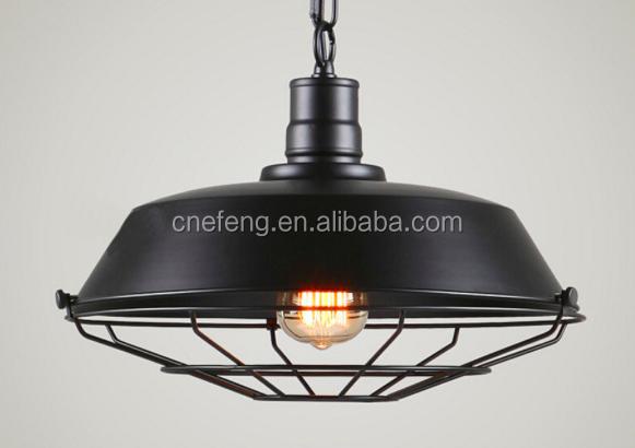 Lampadario Rustico Sospensione : Industria metallo ferro antico luci lampada a sospensione