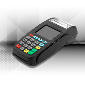 GPRS handheld card swipe machine Linux mobile pos terminal with credit card reader