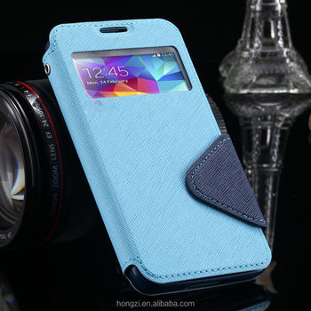 wholesale dealer e1e6b 0e1c9 S4 Cases Luxury View Window Flip Leather Phones Case For Samsung Galaxy S4  I9500 Siv Card Slot Holster Back Cover For Galaxy S4 - Buy Cover ...