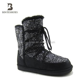Modieuze modieuze Alibaba Product Boot Vrouwen Groothandel Buy Sneeuw Groothandel Glitter On vrouwen Schoenen Online Winter uZiPkOX