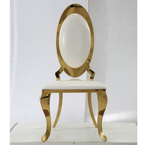 ZY01090 wholesale throne gold stainless steel wedding chair