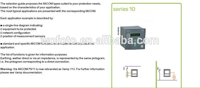 Schneider MiCOM P111 Schneider Protective Relays Schneider Relay Protection  Devices, View Schneider MiCOM P111, Original Product Details from Wuhan