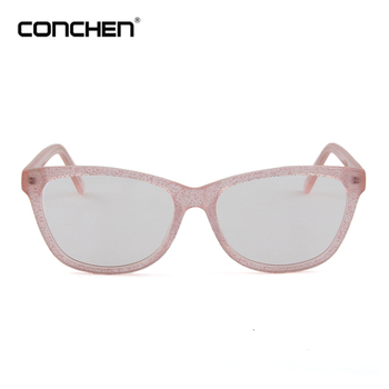 2017 Ladies Office Wear Eye Glass Fahion Pink Women Custom Made ...