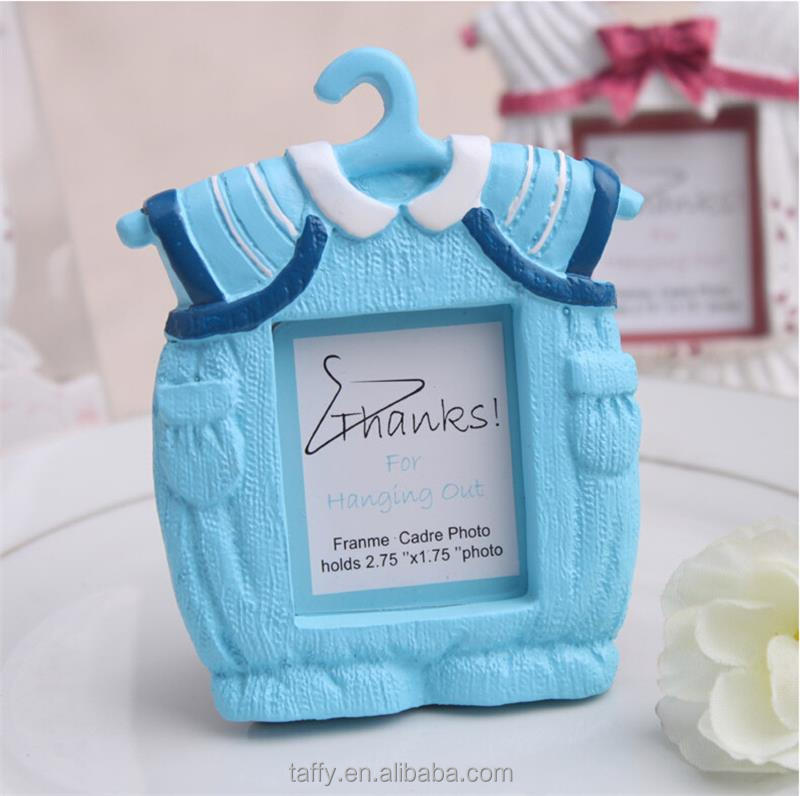 2017 new Baby Boy girl Shower Christening Favours Gifts Baby clothes Onesies Picture Photo Frame