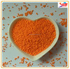 Orange nonpareils for bakery ingredients