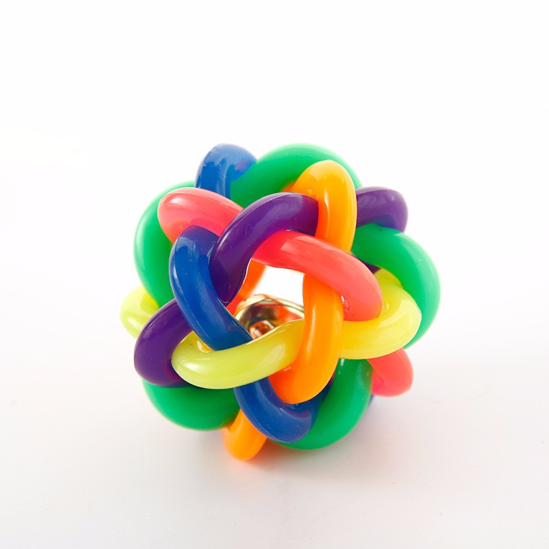 Multi color Puzzle Molar Rubber Dog Puppy Toy