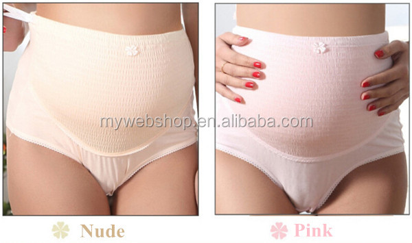100% Cotton High Waist Pregnant Underwear Maternity Panty