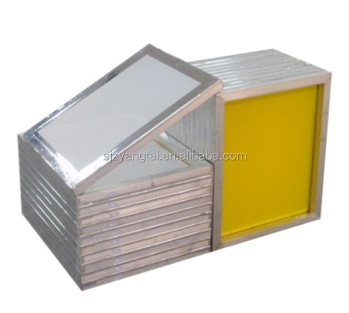 aluminum silkscreen frame with mesh, silk screen frames