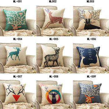 Christmas 100% Cotton Living Room Pillow Hot Sale Christmas Throw Pillows  Wholesale Custom Printed Decorative Throw Pillow - Buy Print Throw ...
