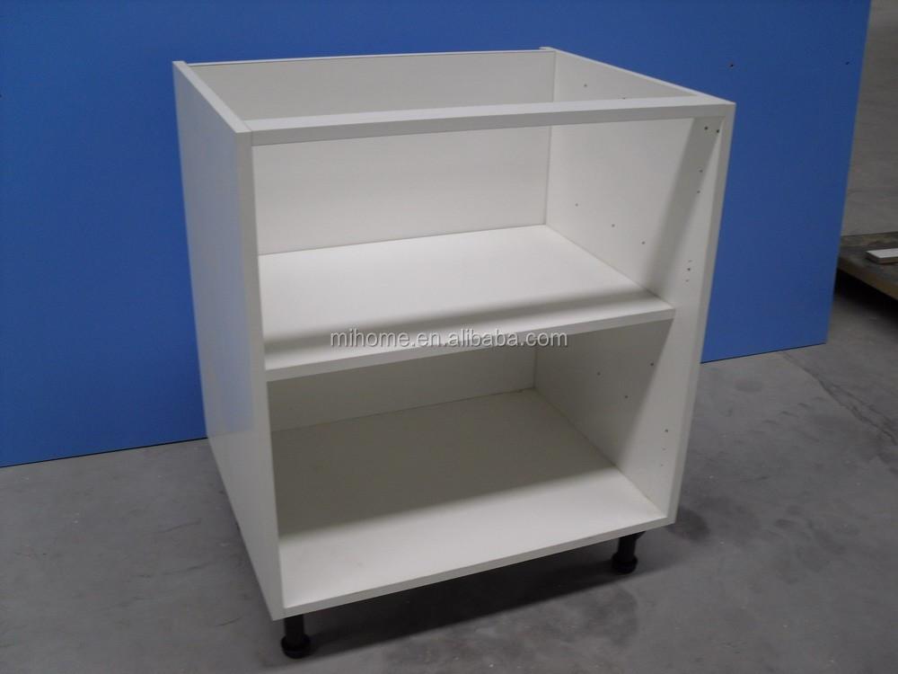 Uk kitchen cabinet carcass mfc kitchen units buy kitchen for Black kitchen carcasses