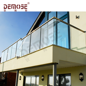 roof porch balcony railing design glass