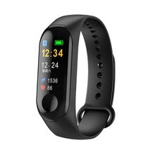 Gezondheid Fitness Tracker Custom <span class=keywords><strong>Logo</strong></span> M3 Pols Band Slimme Horloge 2019