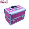 Double Open Aluminum Material Fashion Ladies Make-Up Box
