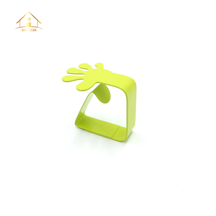 Latest style kitchen tools stainless steel decorative tablecloth clips