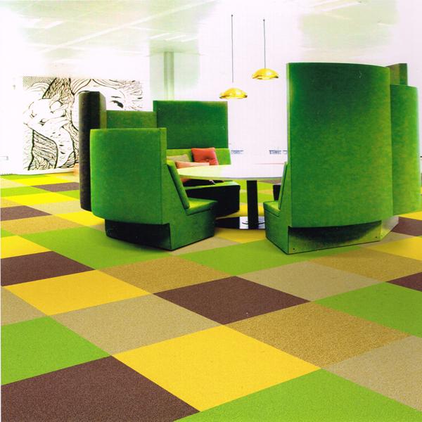 how to cut carpet tiles