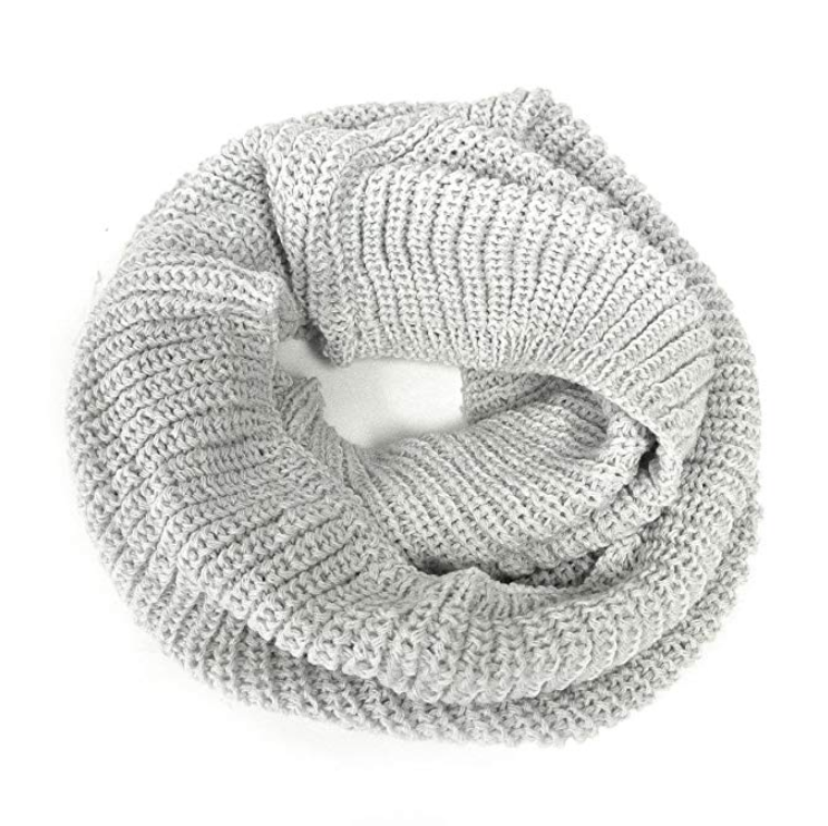 Wrappables Women's Plaid Print Infinity Scarf